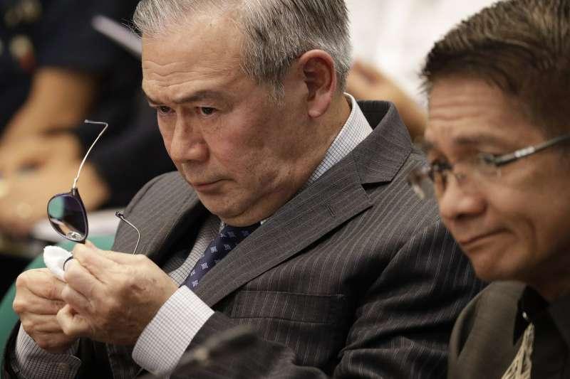 菲律賓外交部長洛辛(資料照,AP)