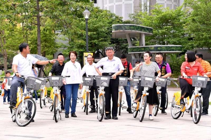 北市YouBike 2.0於8日正式營運,台北市長柯文哲(見圖)表示,YouBike站點將從目前的400站大幅擴增到1200個站點。(取自台北市政府網站)