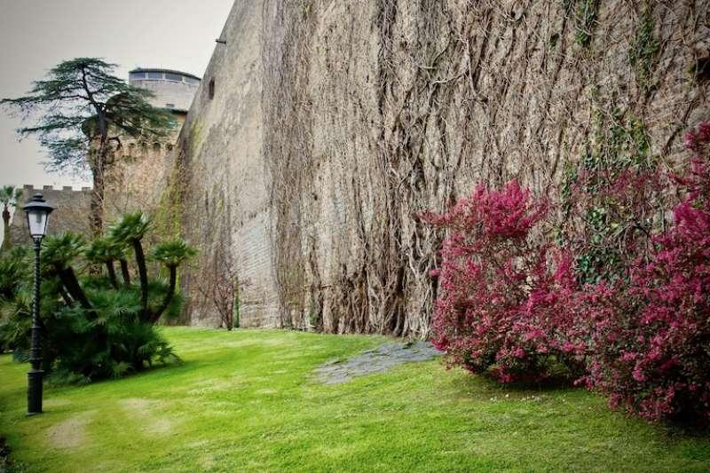 古老的城牆是歷史的見證(曾廣儀攝)