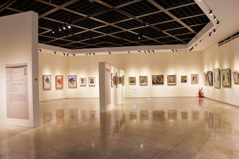 《現‧動-彰化現代美術的啟蒙者》特展,於即日起至110年6月20日在彰化縣立美術館一樓展出,重見彰化既多元又前衛的歷史榮光與美術思潮。(圖/彰化縣政府提供)