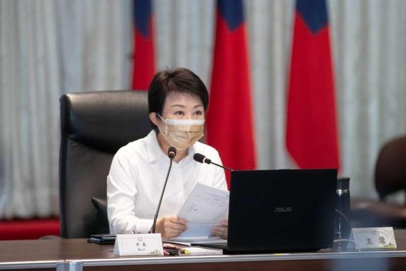 因應近期國內疫情升溫,台中市長盧秀燕下令「防疫加嚴加密」,12日上午也將再開防疫會議,強化各項防疫措施。(圖/台中市政府)