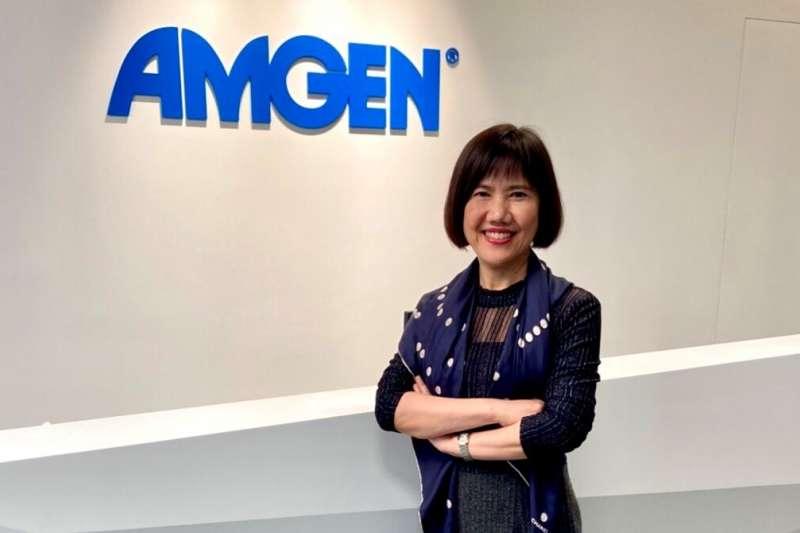 台灣安進人力資源處長張琇琳表示,人才是公司發展的關鍵核心。(圖/台灣安進提供)