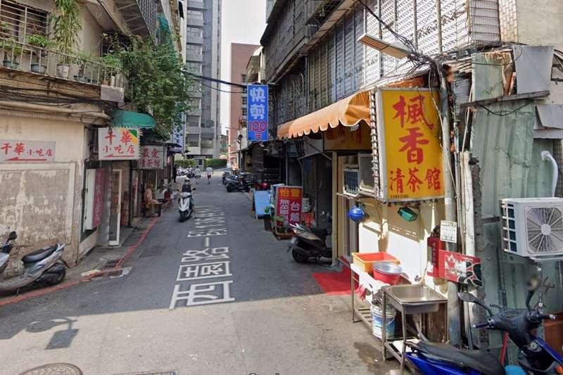 本土確診個案1220、1221為萬華阿公店工作者,由於工作性質特殊,感染源難以釐清。圖為楓香清茶館。(圖/翻攝自Google Map)