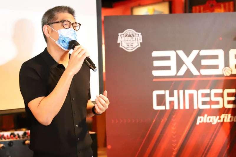 中華民國霹靂舞協會理事長連勝文也到場共襄盛舉。(圖/主辦單位提供)