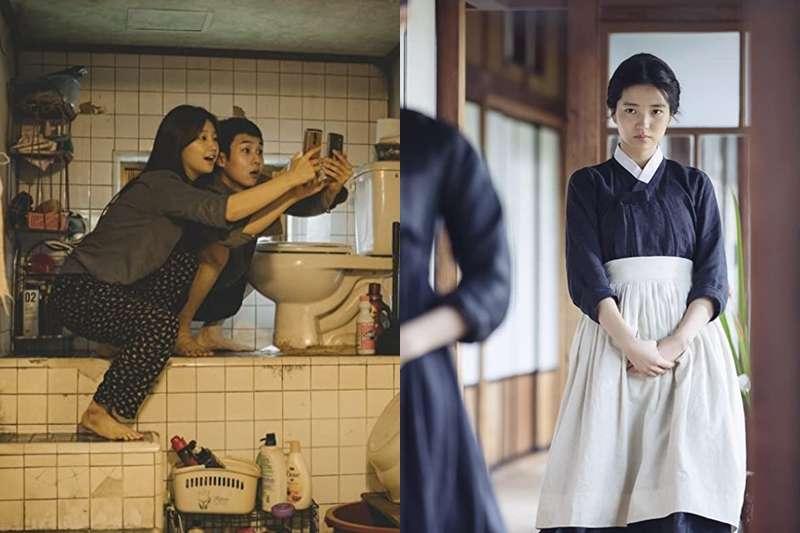 韓國影史最佳電影排行榜中,橫掃國際電影獎項的《寄生上流》僅位居第二。(圖/取自imdb官網)
