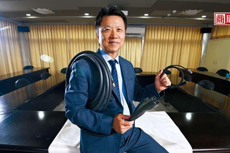 鴻碩董事長張利榮的管理法則,讓公司內部不至於為新訂單利益衝突。(圖/程思迪攝)