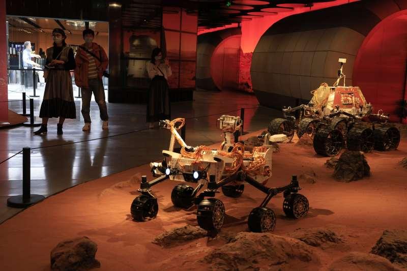 中國火星車(探測器)祝融號(AP)