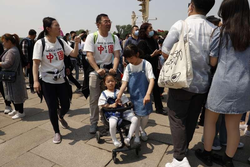 2020年中國有1,200萬嬰兒出生,這是出生人口連續第四年下降。(AP)