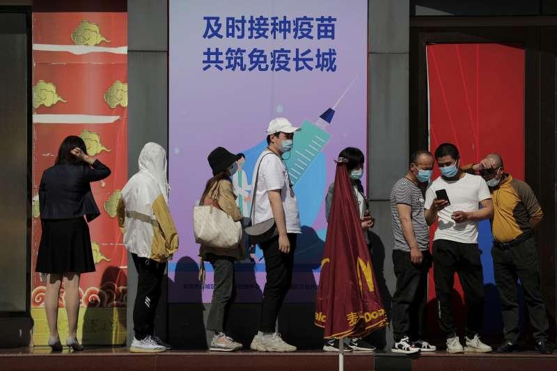 2021年5月,中國新冠肺炎疫情再起(AP)