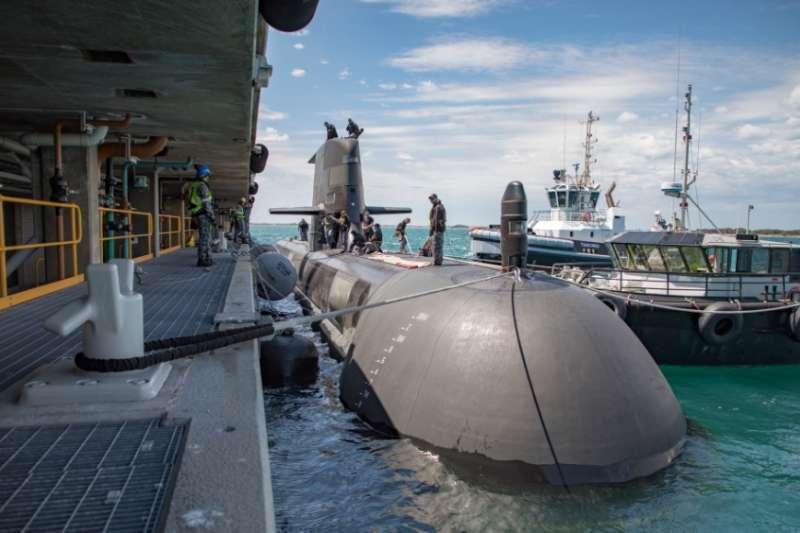 20210519-澳洲柯林斯級(Collins)潛艦(取自澳洲皇家海軍官網)