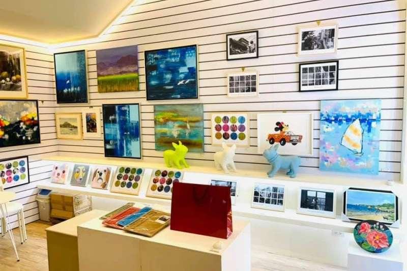台師大綜合大樓 1 樓實體展示空間 - artsharing gallery。(圖/台師大提供)