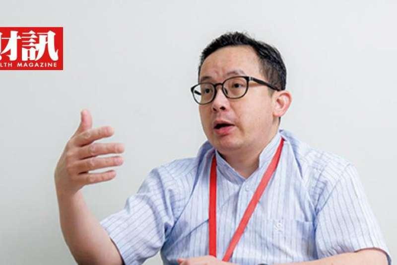 擷發科技總經理楊健盟認為,未來IC設計將減少重複性工作,讓工程師專注研發。(圖/彭世杰攝)