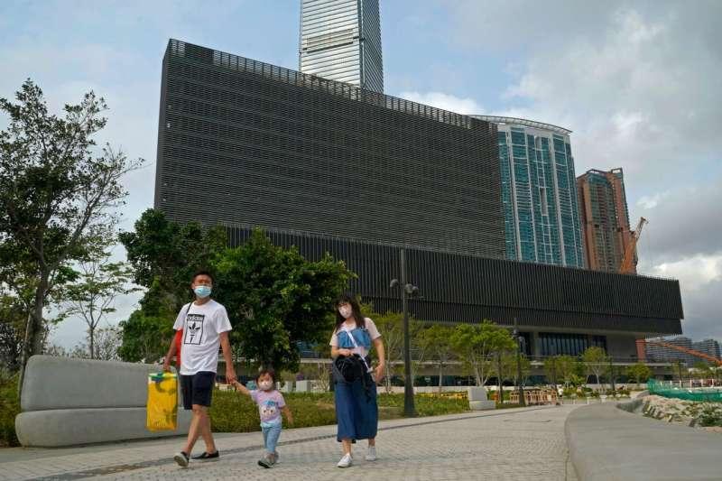 香港的M+博物館計劃2021年開幕。該博物館被某些人視為亞洲版的紐約現代藝術博物館。(AP)