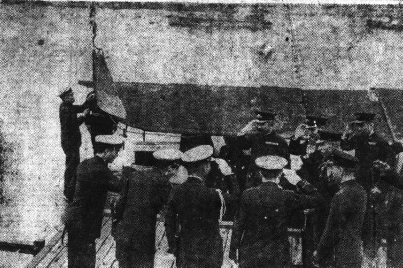 廣東日軍扶持海盜,將他們改編為海軍後移交砲艇,以協助牽制華南的中共游擊隊,並在美軍登陸時充當炮灰。(照片引用自台灣日日新報,由郭冠佑提供)