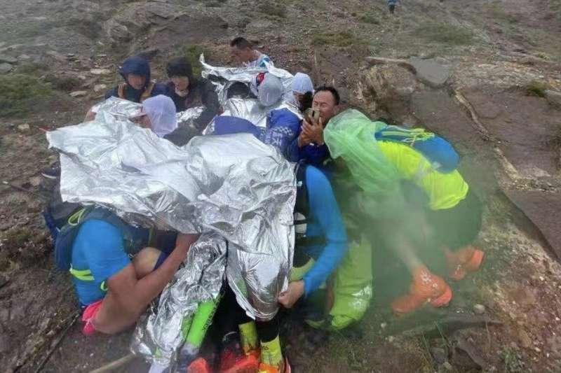 2021年5月22日,中國甘肅一場馬拉松比賽導致21名選手死亡(取自網路)