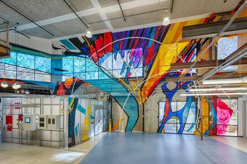 位於加州的Google量子人工智能新園區。 (圖片來源:ALPHABET)