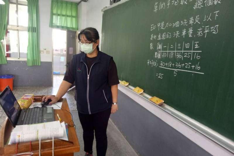 台中市各級學校停課期間,採線上上課的方式進行。(圖/台中市政府)