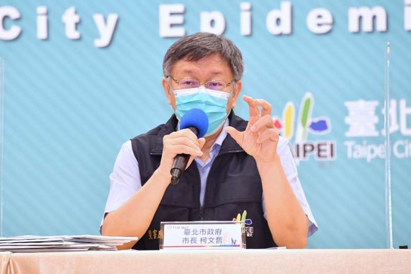 台北市長柯文哲說,如果當初是他做決定,一開始就會採用韓國戰略,一開始就去做代工,「為何把國運賭在冒險?」(北市府提供)