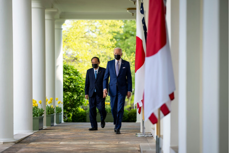 由美日外交與國防首長舉行,俗稱「2+2會談」的「美日安全保障協議委員會」,3月16日於東京登場。(資料來源:The New York Times,作者提供)