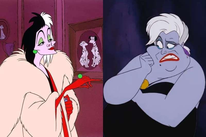 迪士尼動畫中除了善良美麗的公主外,最讓人印象深刻的,無非就是各種讓人又愛又恨的反派角色啦!(圖/取自豆瓣官網)