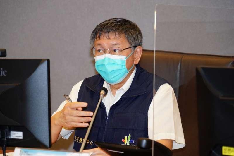 網友發現,台北市長柯文哲(見圖)早在5月7日就預言「3+11」的會議不會有簽字的會議紀錄。(資料照,台北市政府提供)