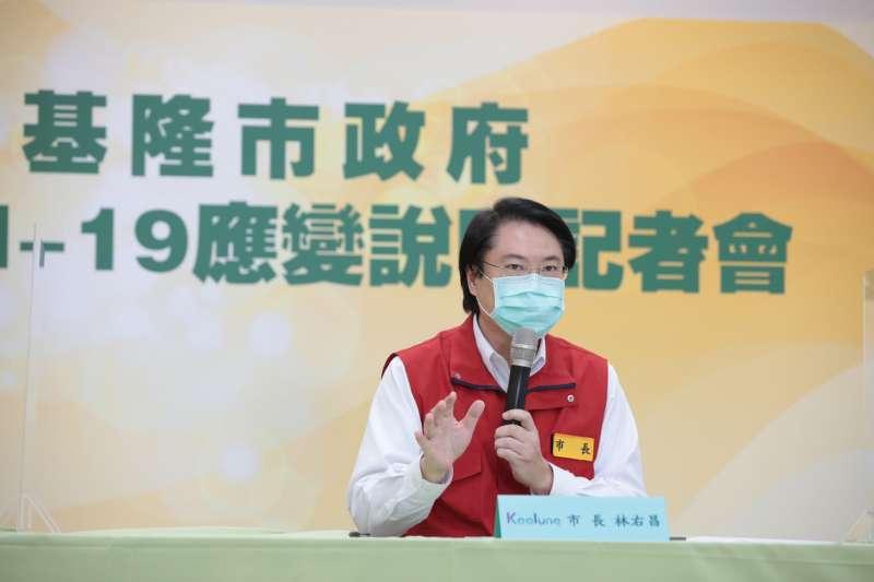 林右昌認為當北農有確診案發生時,台北市政府應積極疫調。(資料照,基隆市政府提供)