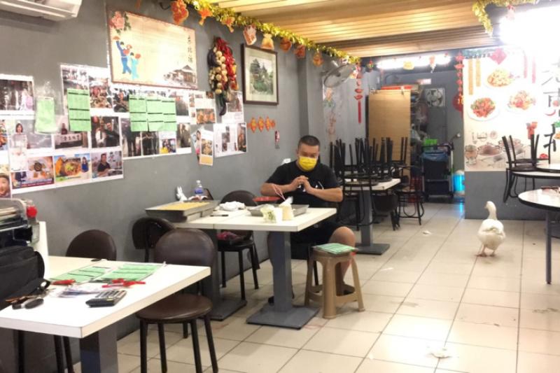楊波來台灣五年甚至開了間餐廳,在這次疫情下被台灣的人情味深深感動。(圖/楊波提供)