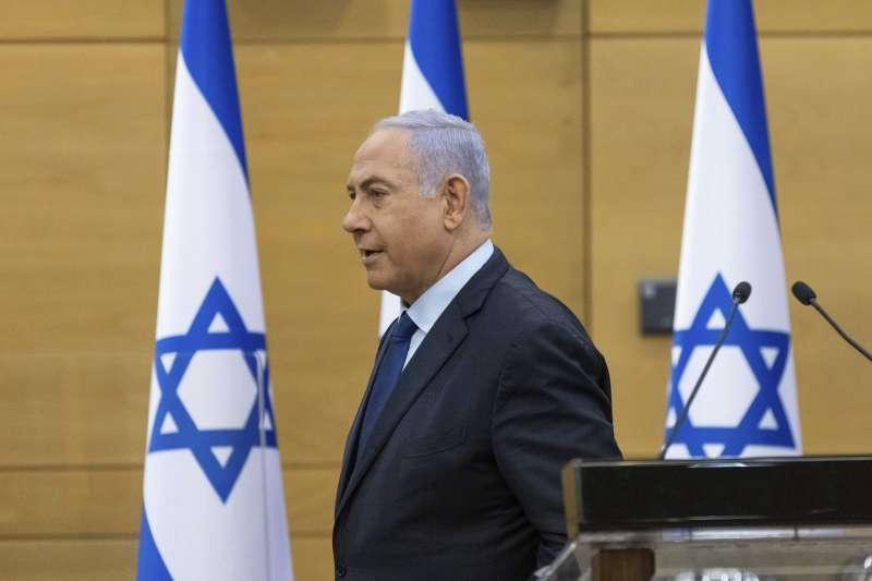 2021年5月,以色列總理納坦雅胡(Benjamin Netanyahu)(AP)