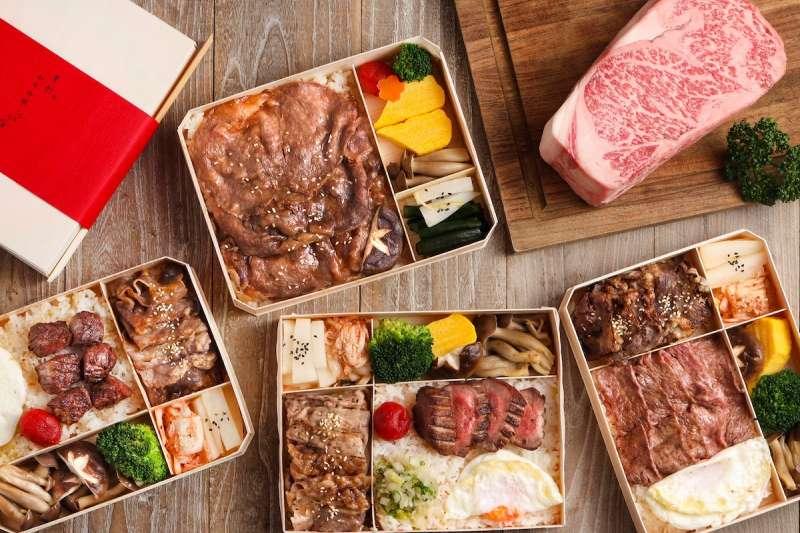 因應疫情,許多頂級餐廳推出外帶外送餐點,方便消費者享用(圖 / 樂軒和牛@facebook)