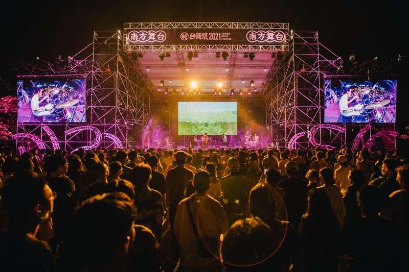 2021台灣祭結束,縣府跟熱愛音樂的民眾相約明年見。(圖/屏東縣政府)