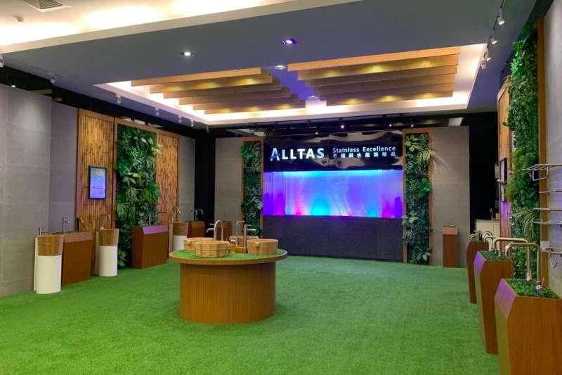 2015年推出ALLTAS不銹鋼水龍頭系列精。品(圖/王宣喬)