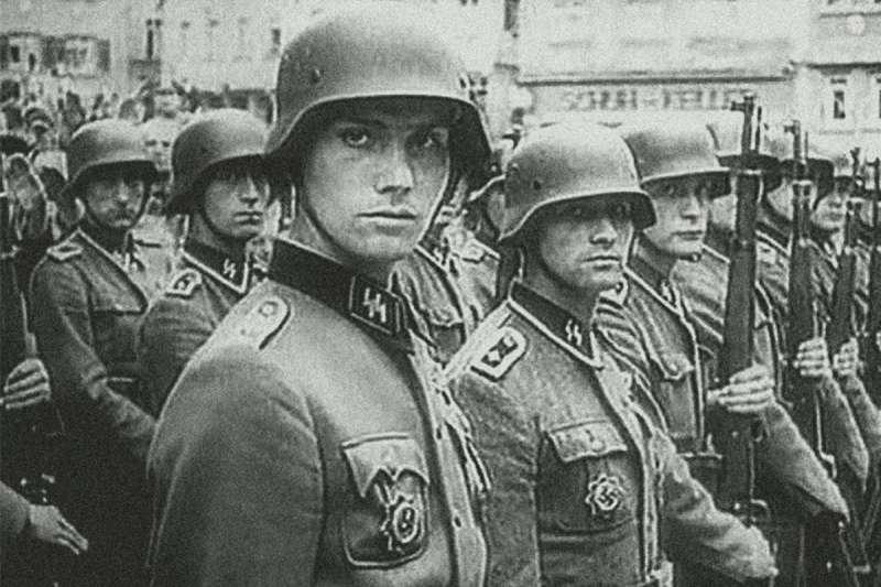 加入納粹武裝親衛隊的荷蘭人,致力於以國家社會主義統一歐洲,犯下累累戰爭罪行,可荷蘭一般民眾還是無辜的。(許劍虹提供)