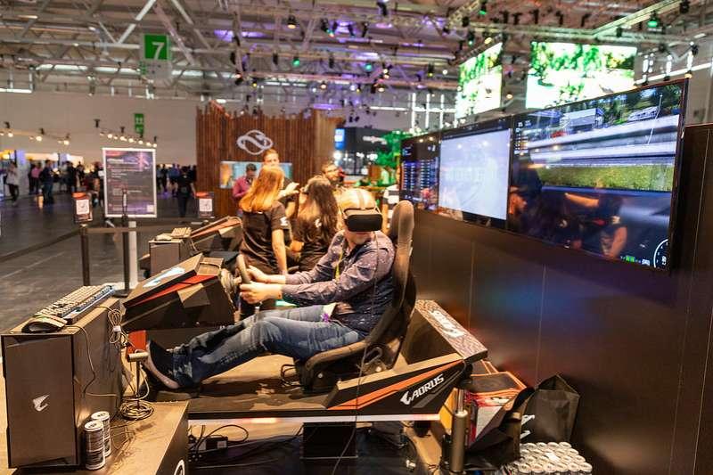 VR虛擬實境遊戲(圖片來源:dronepicr@Flickr)