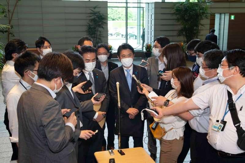 日本國會議員山下貴司促成這次的日本疫苗助台。(山下貴司臉書)
