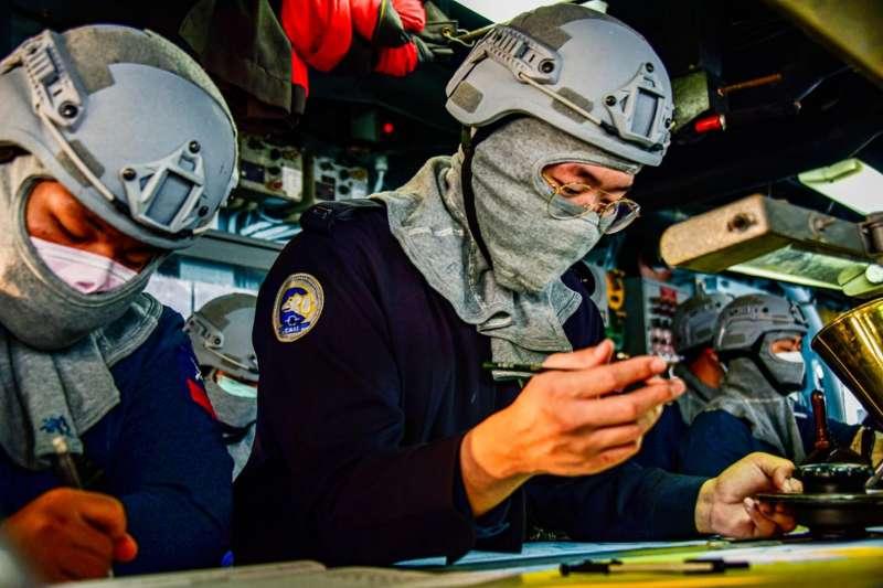 20210607-海軍168艦隊北極熊臂章。(取自中華民國海軍臉書)