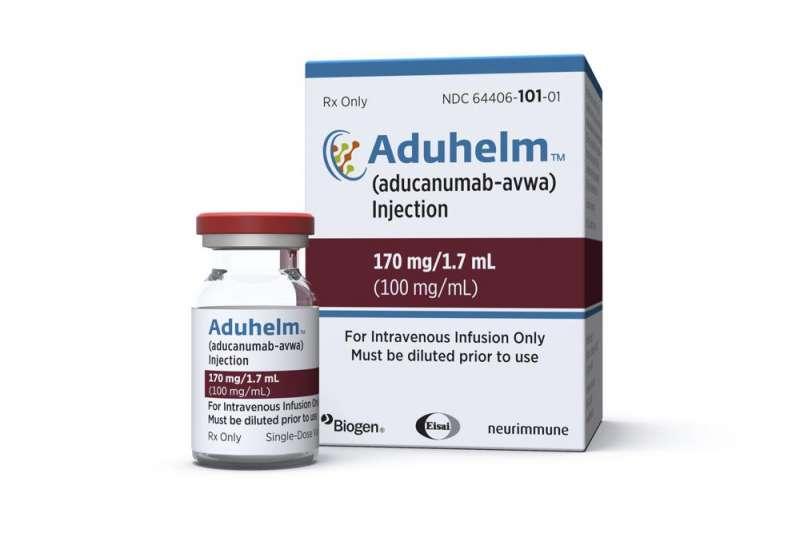 美國食品藥物管理局7日批准美國製藥公司百健(Biogen)阿茲海默症的新藥(美聯社)
