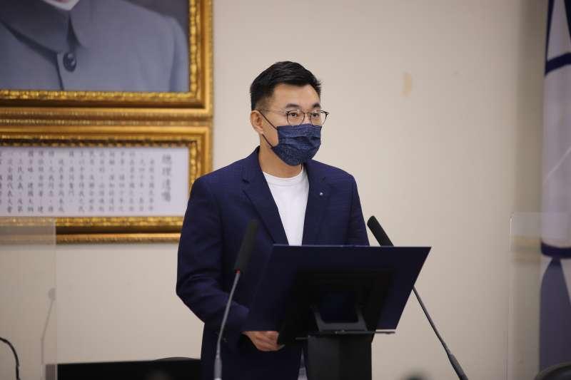 針對美方強調不支持台獨,國民黨主席江啟臣7日重申「中華民國是我們的最大公約數」。(資料照,國民黨提供)