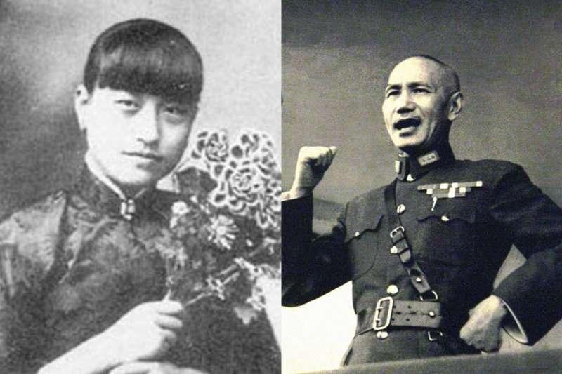 相伴7年卻被蔣中正狠心分手,陳潔如晚年受到國民黨的打壓,無法公開兩人的戀愛往事。(合成圖/取自Wikipedia)