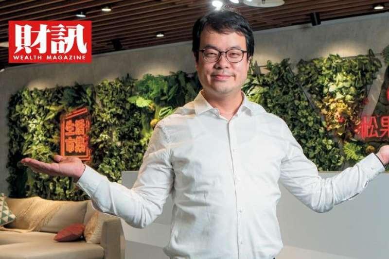 創業家兄弟董事長郭書齊將帶領公司轉型。(圖/財訊提供)
