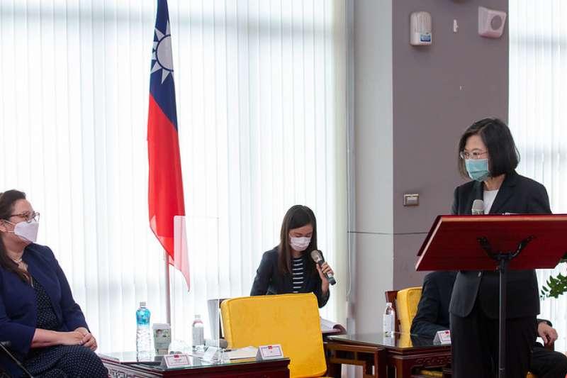 連同副總統賴清德在內,總統蔡蔡英文維安編組的隨扈都已完成疫苗施打。(資料照,取自總統府網站)