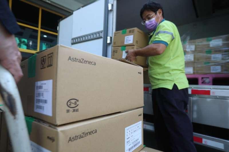 日本先前援台的AZ疫苗已陸續分發各地。(台南市政府提供)