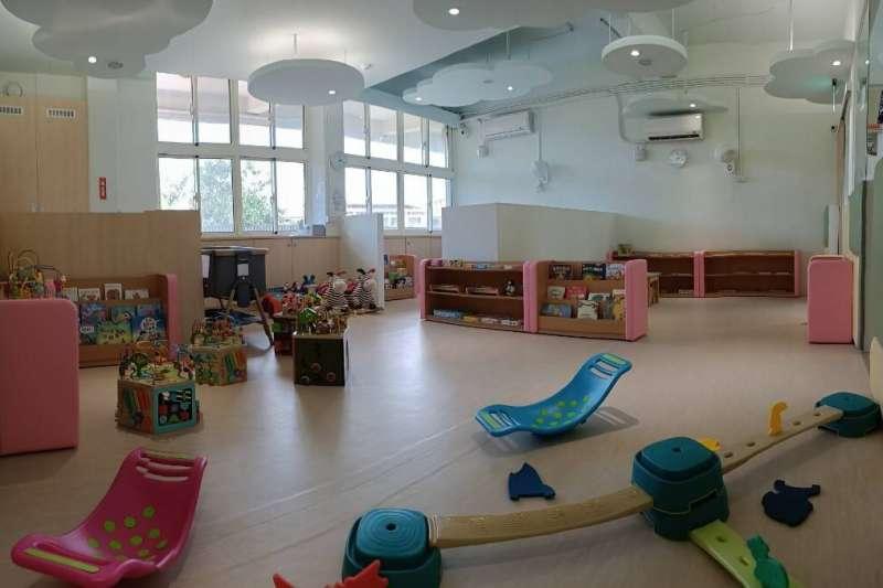 台中市甲安埔首座公托「大安社區公共托育家園」招生活動從6/16至6/25,預計收托0至2歲,共計12名嬰幼兒。(圖/台中市政府提供)