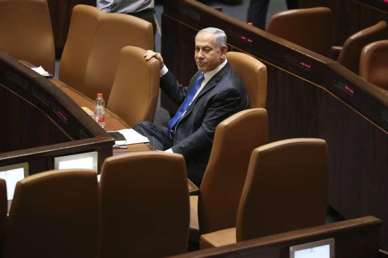 2021年6月13日,納坦雅胡卸下以色列總理(AP)