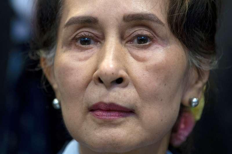 翁山蘇姬(Aung San Suu Kyi)(AP)
