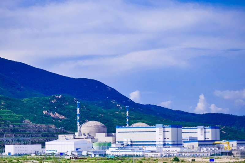 中國廣東台山核電站(台山核電站)