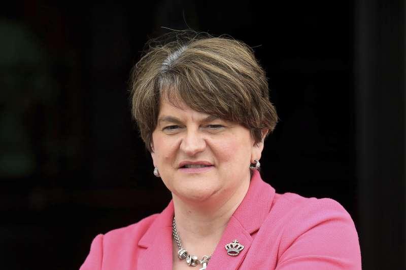 北愛爾蘭首席部長佛斯特14日正式下台(美聯社)
