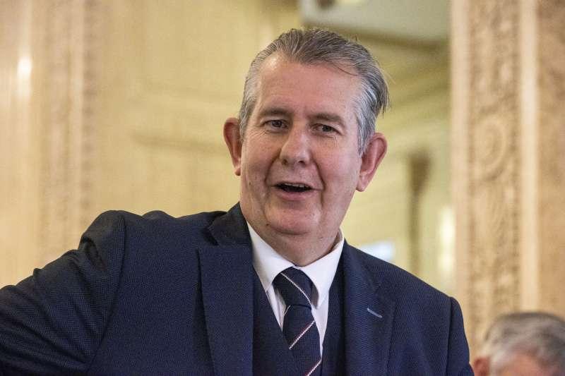 北愛爾蘭民主統一黨的領導人普茨(美聯社)