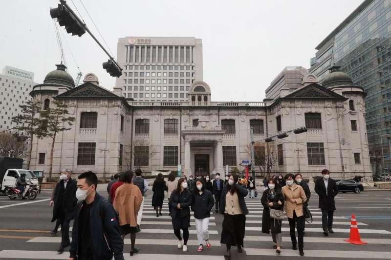 說到具有提供更多財政支持空間的經濟體,韓國也許是最顯而易見的例子。(美聯社)