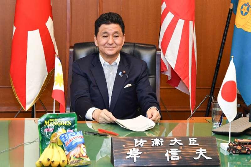 日本防衛大臣岸信夫。(防衛省官網)