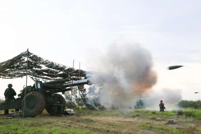 20210617-155公厘榴砲。(取自軍聞社)